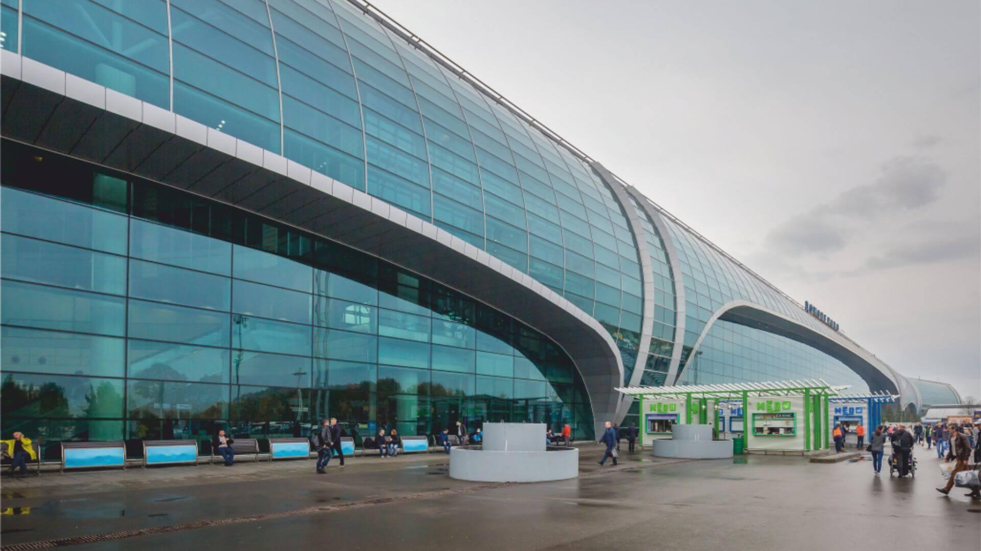 αεροδρόμιο Domodedovo στη Μόσχα