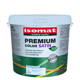isomat premium color eco satin product
